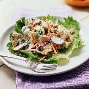 Chicken, Carrot, and Cucumber Salad | MyRecipes.com