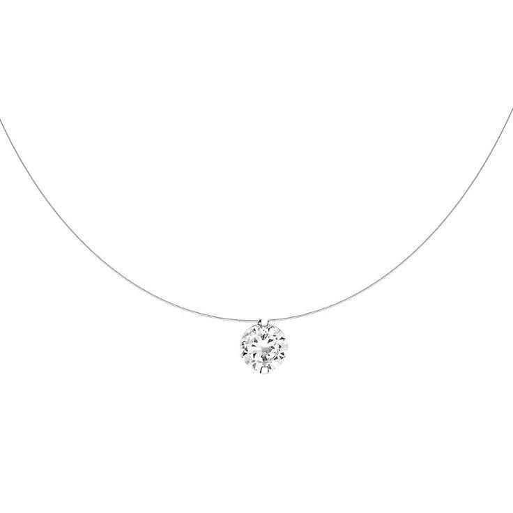 Bien-aimé Les 25 meilleures idées de la catégorie Collier diamant sur  LL01