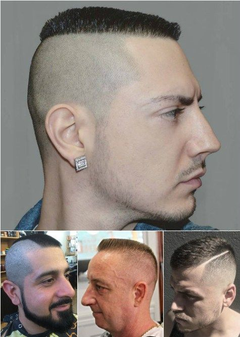 extra short military style haircuts for men