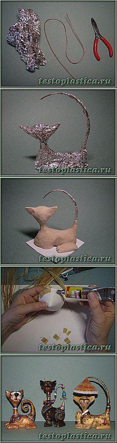 (+1) тема - Вьетнамская кошка из соленого теста. МК KorMa-KoroNa | Очумелые ручки