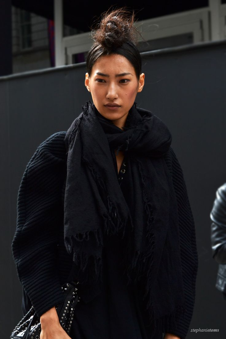 BETWEEN SHOWS Stephanie Toms: http://cocochic.creatorsofdesire.com  #fashion #lfw #streetstyle #model