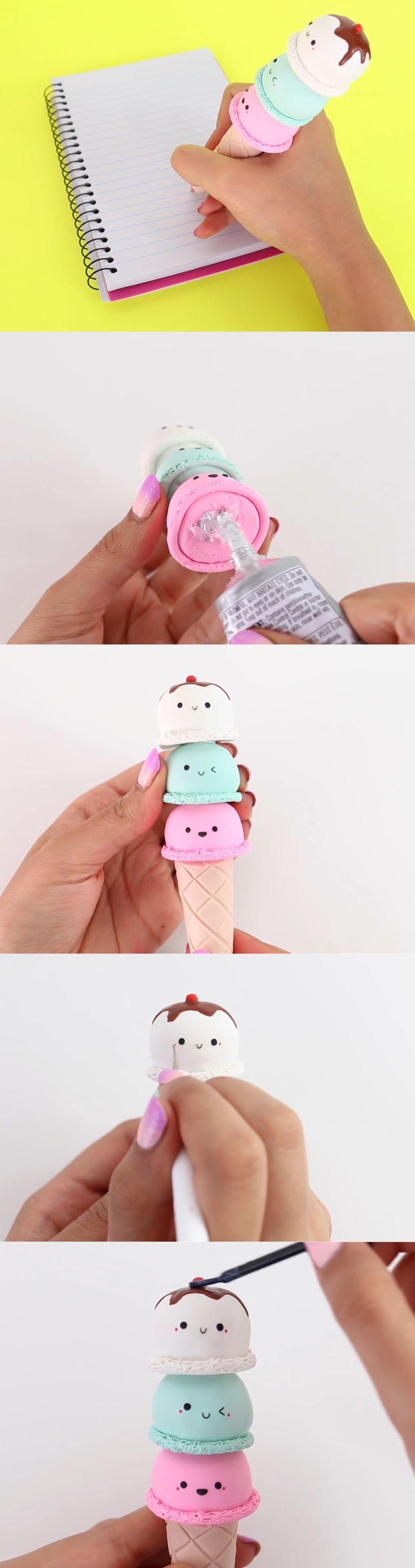 esfero de helado  Parte  6