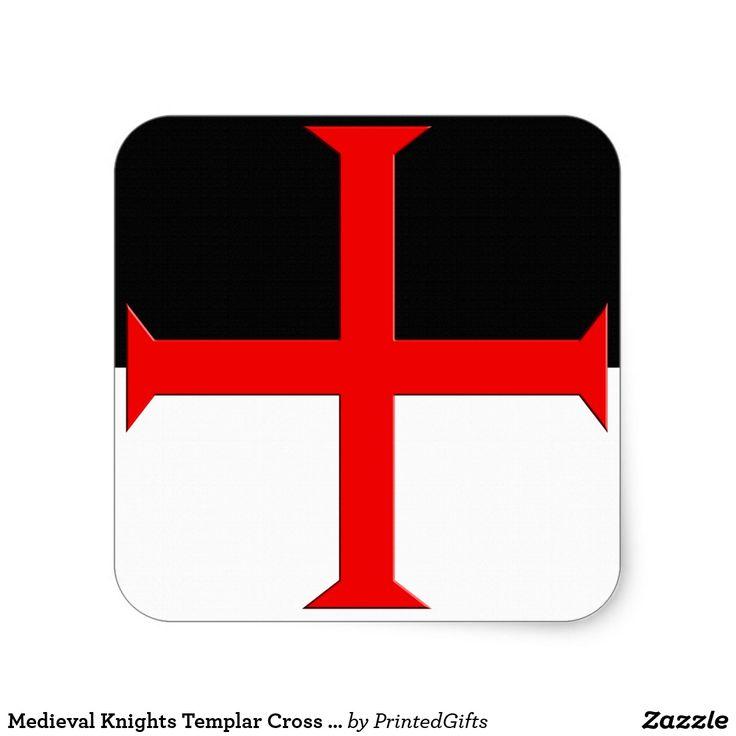 Medieval Knights Templar Cross Flag