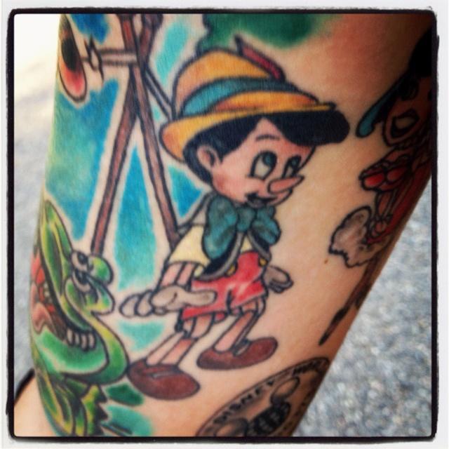 pinocchio tattoo - photo #15
