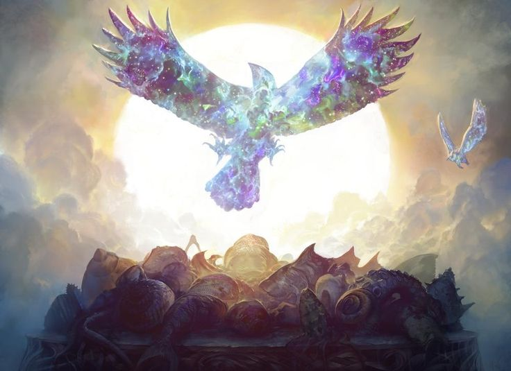 Rise of Eagles, an art print by Noah Bradley - INPRNT