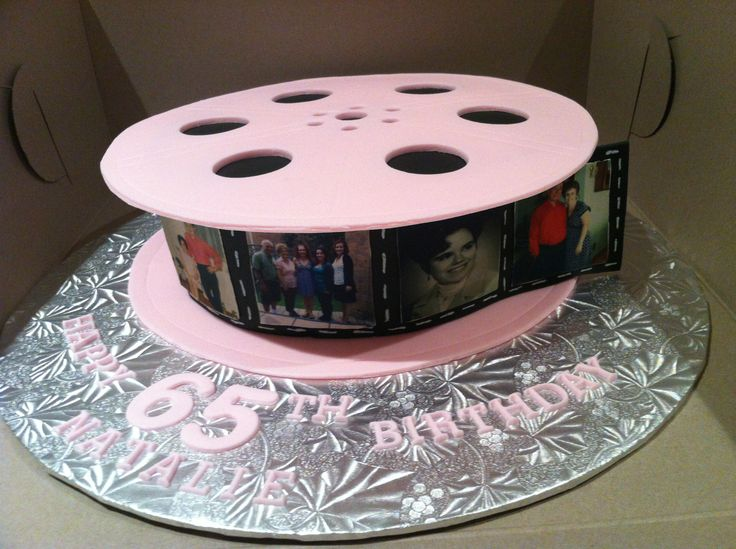 Cake With Photo Reel : 17 Best images about Edible Bliss Cakes on Pinterest 1st ...
