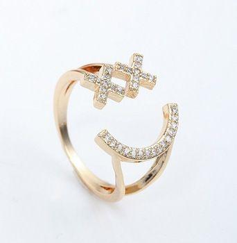 La boutique à Bijoux Paris Chain ring in Silver 925 with Zirconium Crystal close set Size 54 1jIbIsO