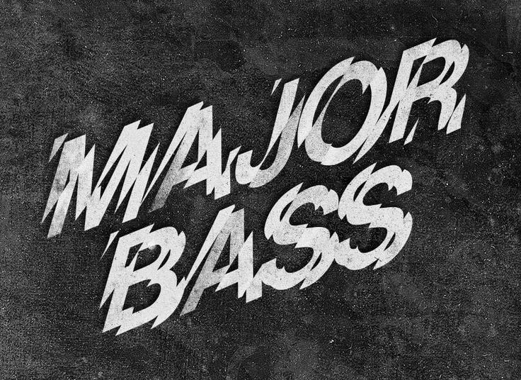 Major Bass Festival Logotype.