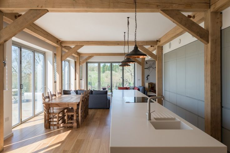 This truly remarkablehouse, set in approximatelytwo acres of gardens and paddock in the beautiful Buckinghamshire countryside, was designed by the London-based architects A-Zero. The property, created from a former agricultural building, now offers over 4,600 sq ft (430 sq m) of internal space making it ideally suited as a large family home. It is locatedtwomiles […]