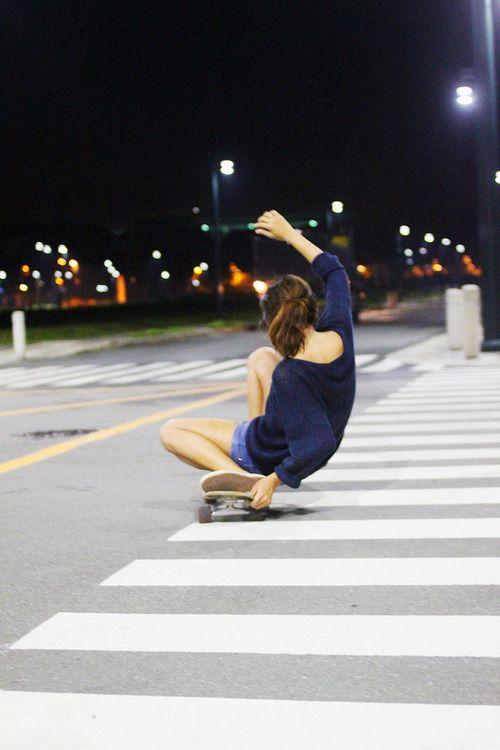 skater girl, skateboarding, tomboy at heart