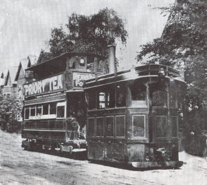 Trams on the way to kings heath.1903