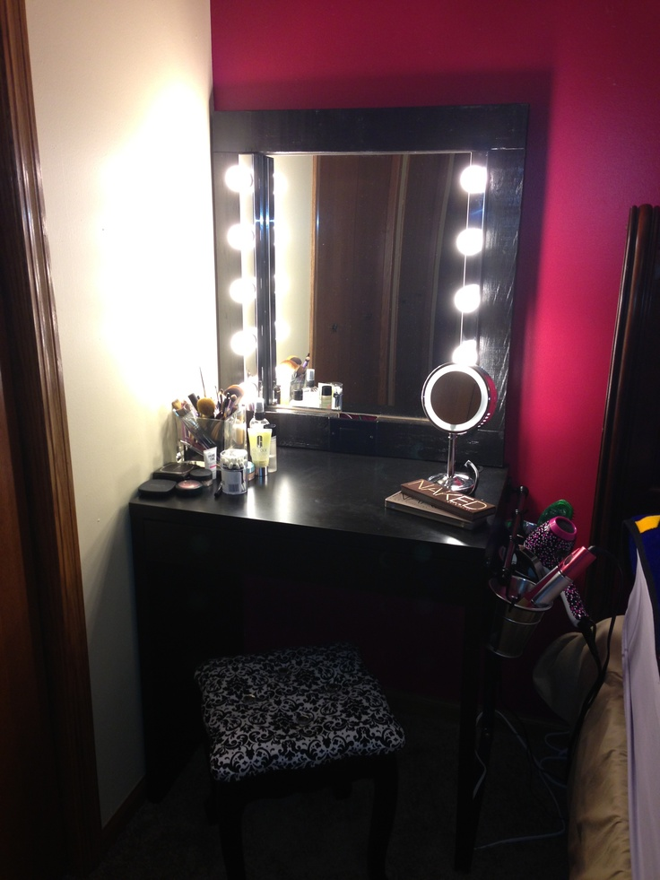 137 Best Diy Vanity Images On Pinterest Bedroom Ideas Dressing Tables And Makeup Organization