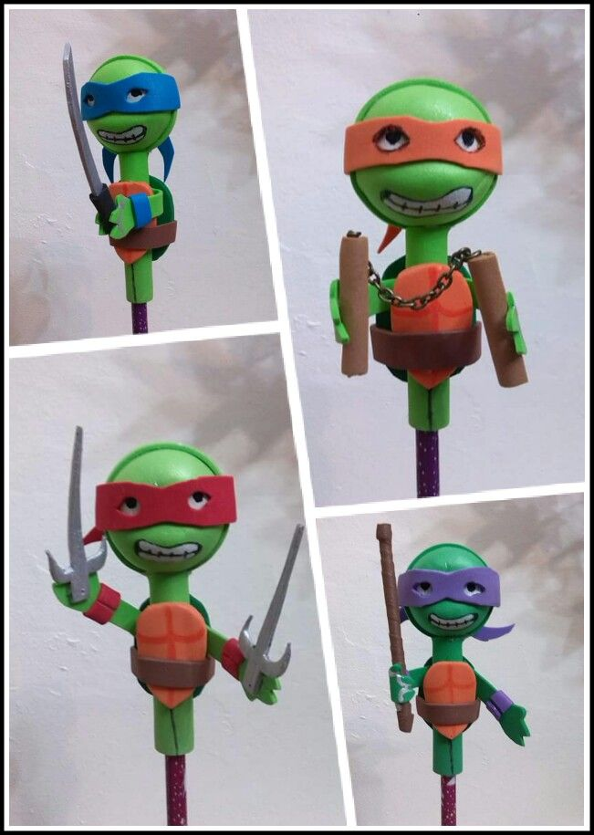 Fofulapiz Tortugas Ninja Tmnt Party Ideas Tmnt