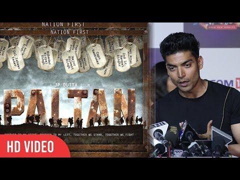 Gurmeet Choudhary Reaction On His Upcoming Movie Paltan | Viralbllywood