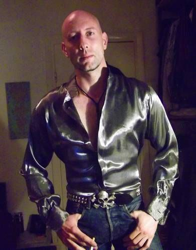 from Quincy hot gay guy in silk shirt