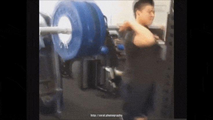 Never seen before gym fail gifs