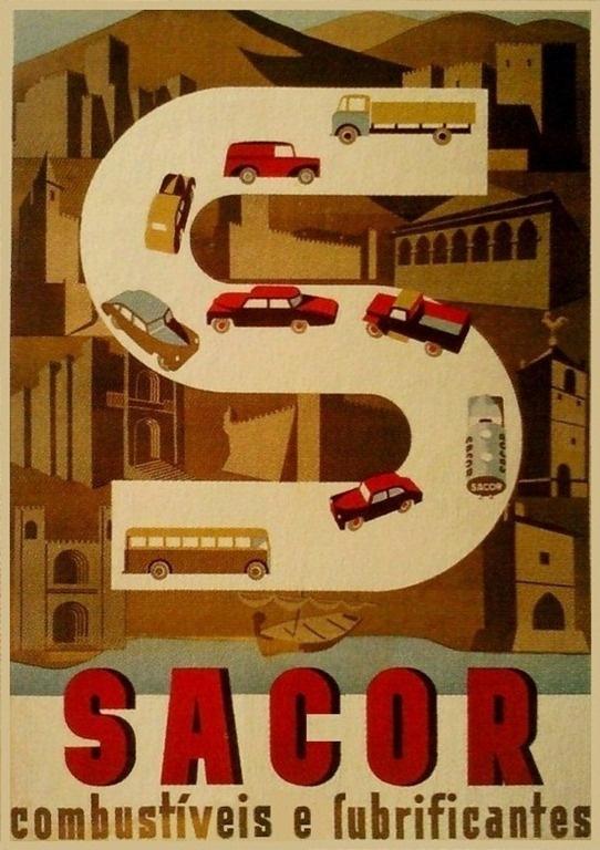 Sacor - Combustiveis & Lubrificantes 1950