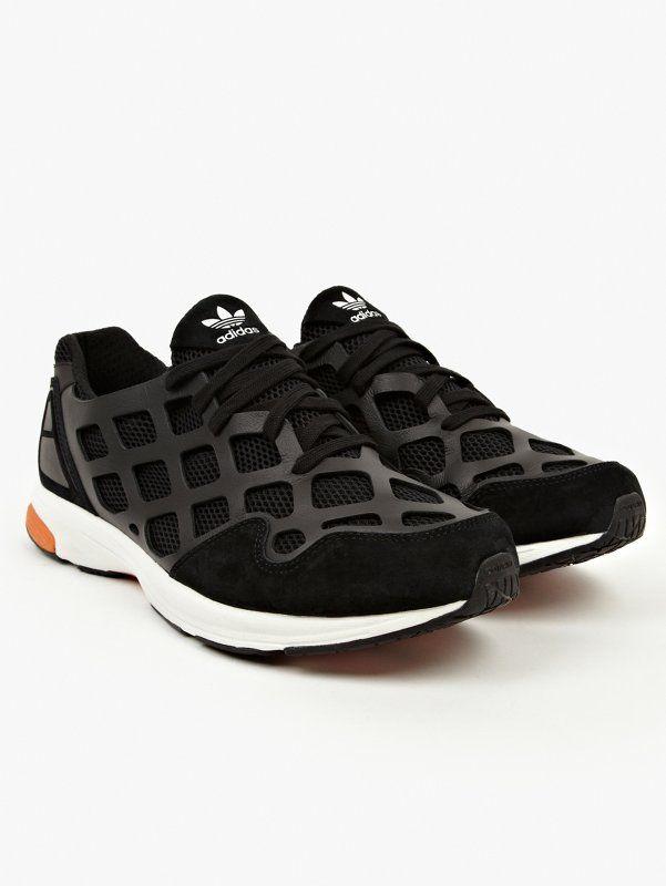 adidas Originals Mens Black ZX Zero Sneakers