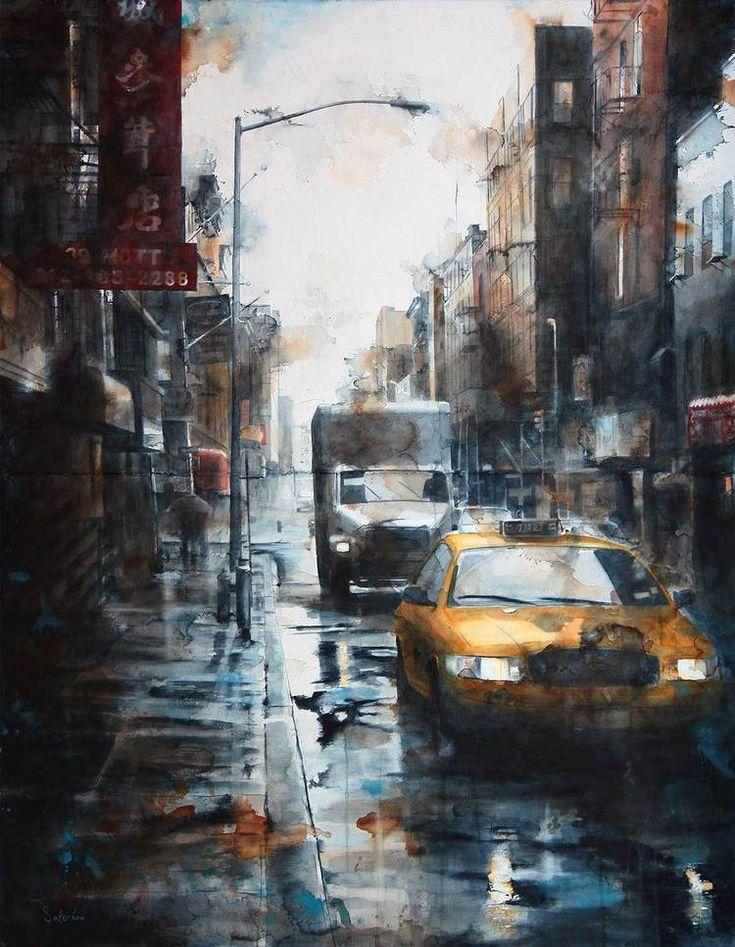 WATERCOLOR — Tim Saternow