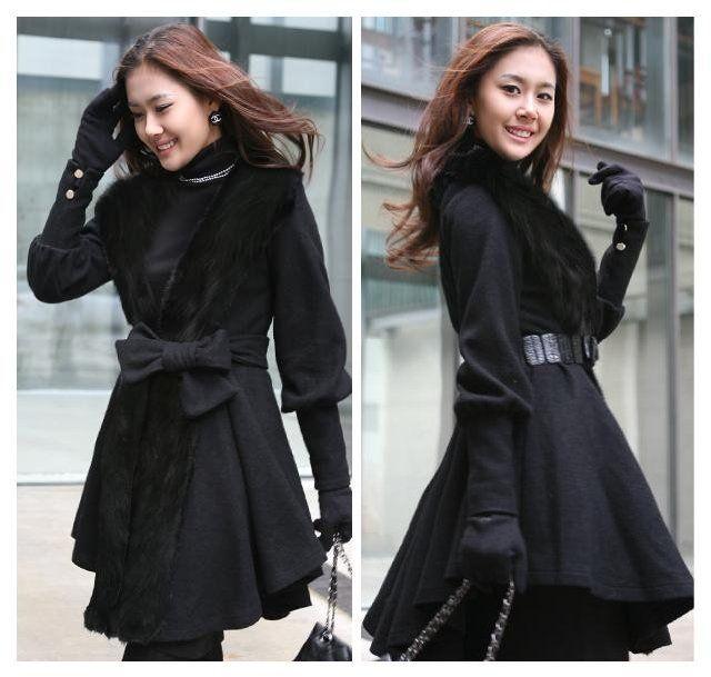 Black Winter Coats For Girls