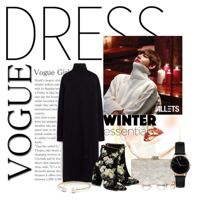 oh darling please by nicolepuppy on Polyvore featuring Miss Selfridge, Edie Parker, Freedom To Exist, David Yurman, Winter, chic, contestentry, under100 and polyvorecontest