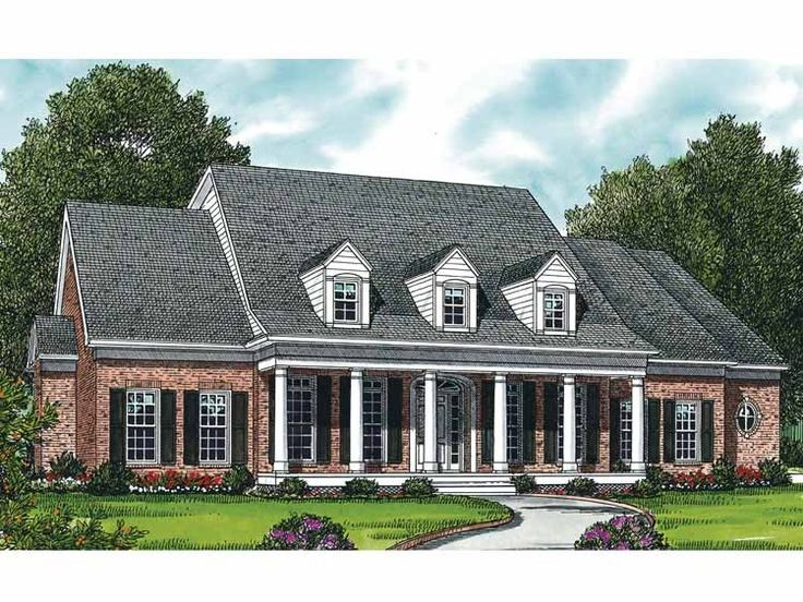 369 Best House Plans Images On Pinterest