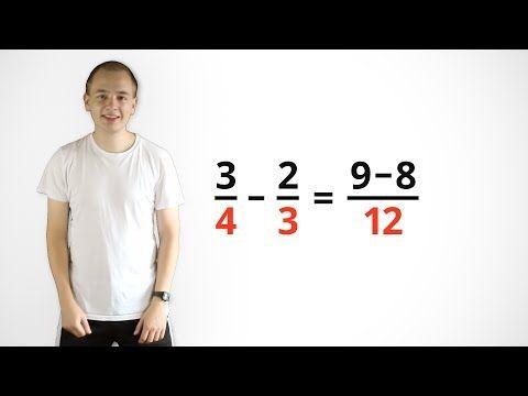 Brüche addieren - mit vedischer Mathematik (Mathe-Song) - YouTube