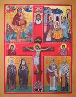 icona quadripartita delle Romite Ambrosiane
