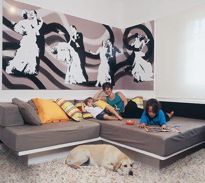 """A Casa da Grande Familia: Alvenaria na decoração - uma """"nova"""" tendência"""
