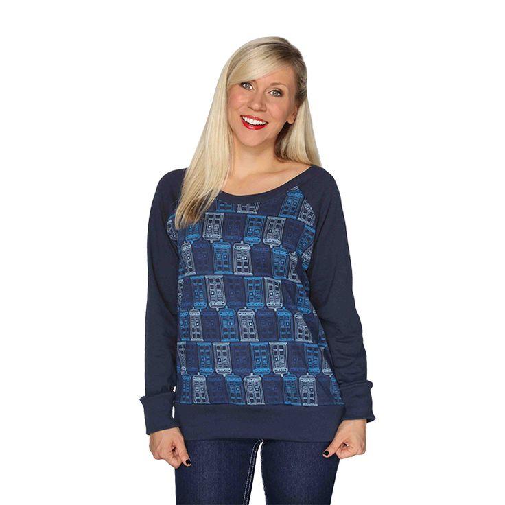 Tessellated TARDIS Pullover