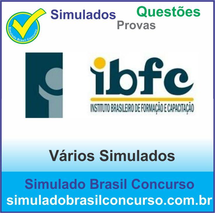 Concurso da banca IBFC 2014.  Novos Simulados e Questões da IBFC 2014.  http://simuladobrasilconcurso.com.br/simulados/concursos/?filtro_banca=40  #SimuladoBrasilConcurso, #ProvaIbfc