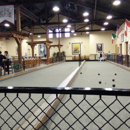 Campo Di Bocce of Livermore - Livermore, CA, United States. One of the many Bocce Ball courts