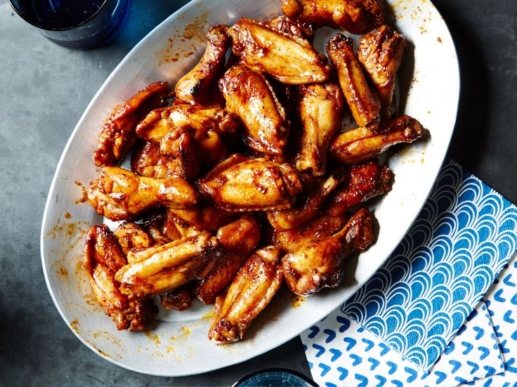 117 best wings images on pinterest chicken wings crispy baked balsamic glazed chicken wings forumfinder Choice Image