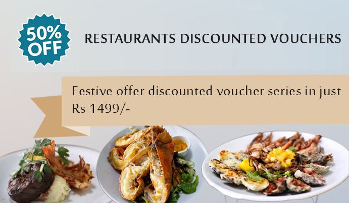 Flat 50% discount on Restaurant this Diwali Get emerald series in just 1499/-