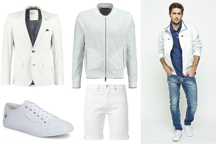 Białe dodatki męskie: trend wiosny Moda 2015 – Blog o modzie męskiej Jego-styl.pl