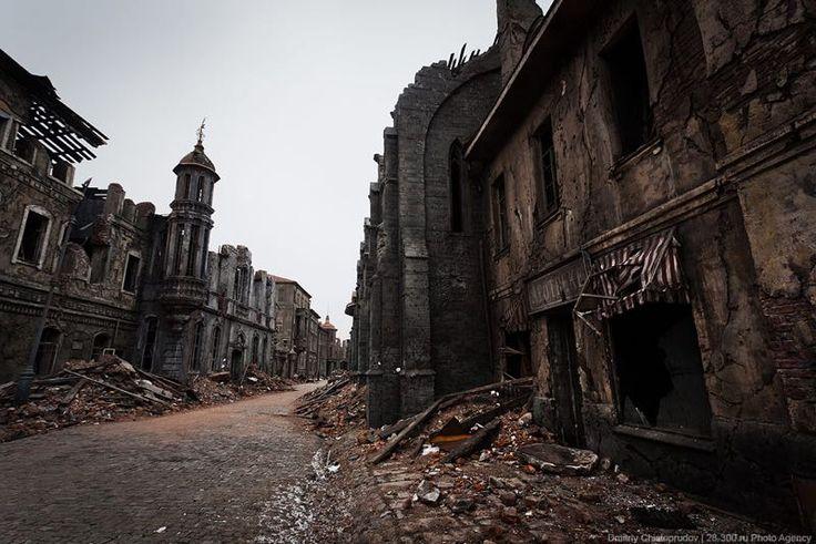 L'ingannevole città fantasma del fotografo Dmitry Chistoprudov.