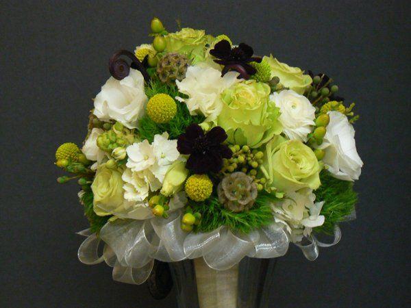 Green Wedding Flowers Wedding Flowers Photos on WeddingWire