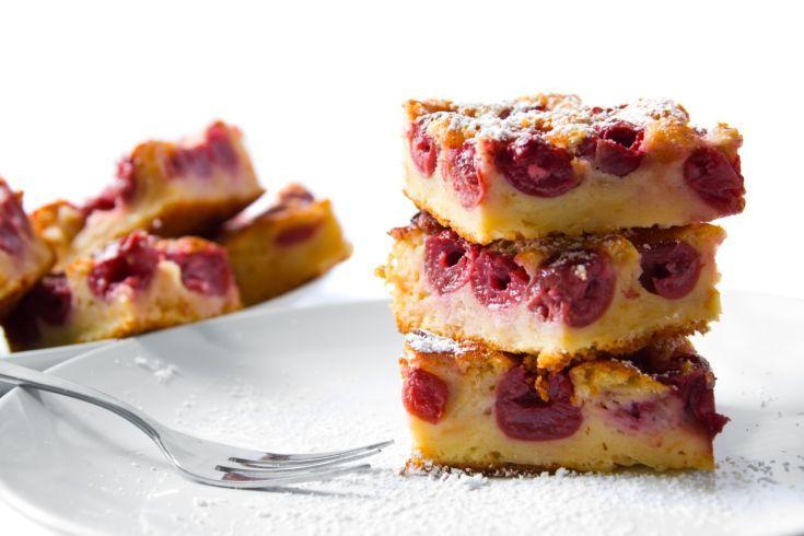 Čerešňový koláč zo špaldovej múky