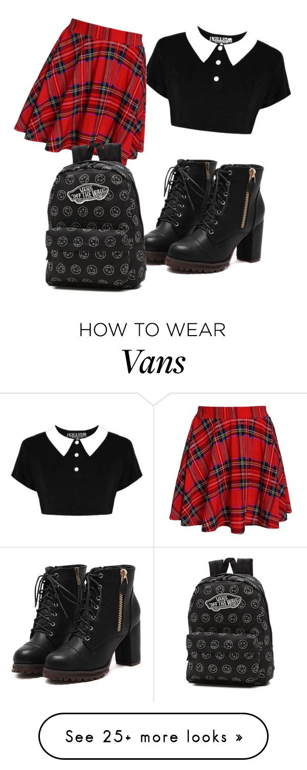"""Just That Day"" by xcayanna on Polyvore featuring Vans"