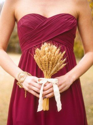 Love this color for flower girl dress. Fall Wedding Finds | Fall