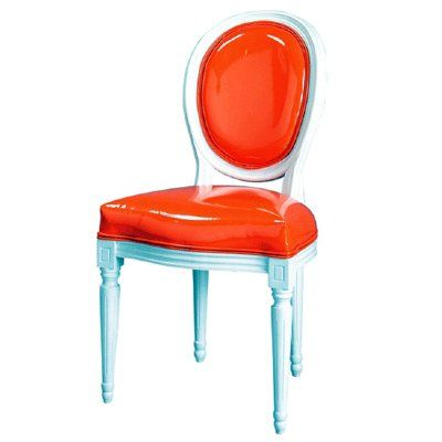Orange Chair - CAM-L002-PVC-O Orange Chair | 94, Fun, Tables, Chair and Stool, Furniture - Sweet and Sour Kids