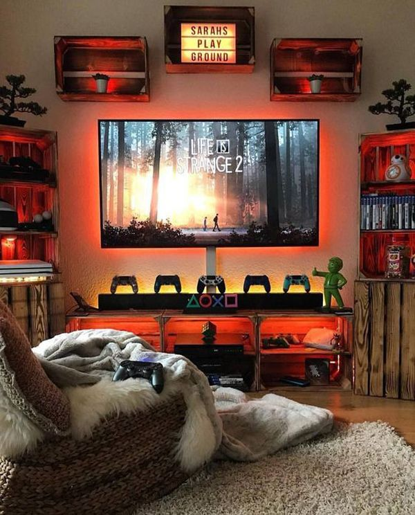 34 Fun Video Game Rooms For The Beginners Video Game Rooms
