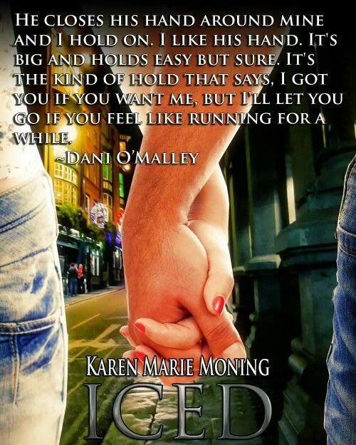 Karen Marie Moning Iced Dani O'Malley: