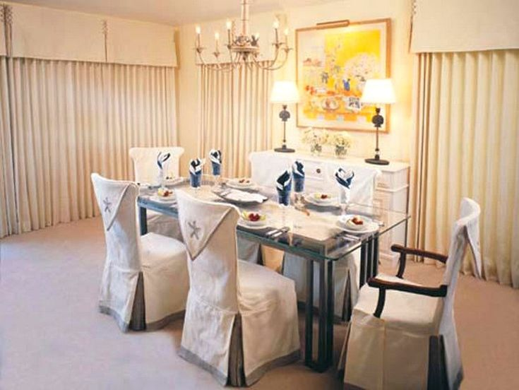 Best 25+ Dining room chair covers ideas on Pinterest | Chair ...