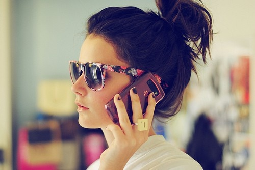 A pair of shades is necessary to complete an outfit!