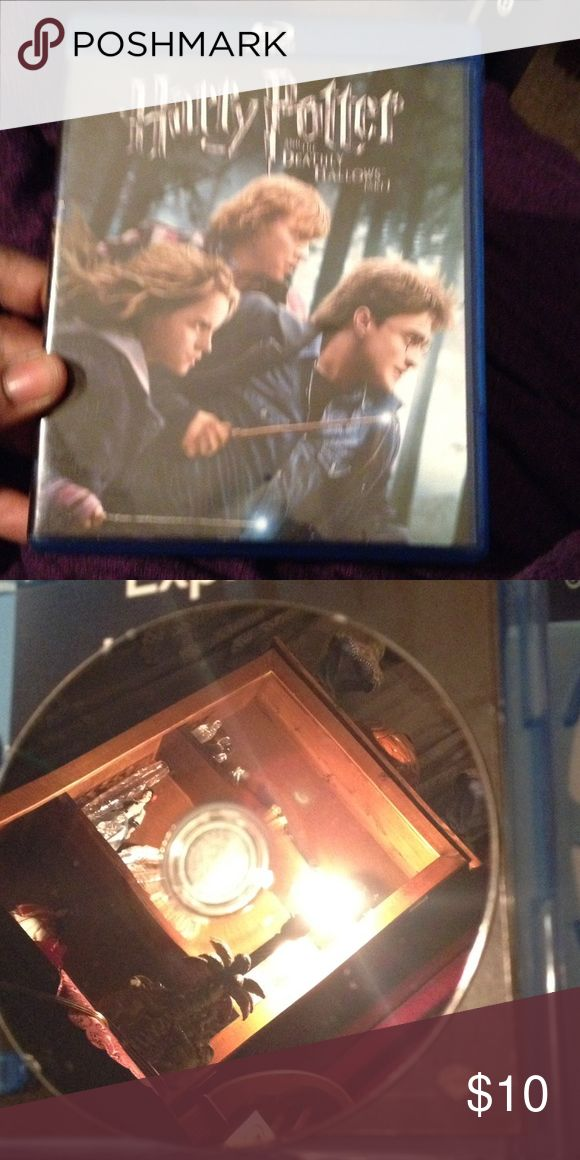 📀📀DVD📀📀 Blue Ray DVD Harry Potters Deathly Hallows Part 1. In excellent condition. Other