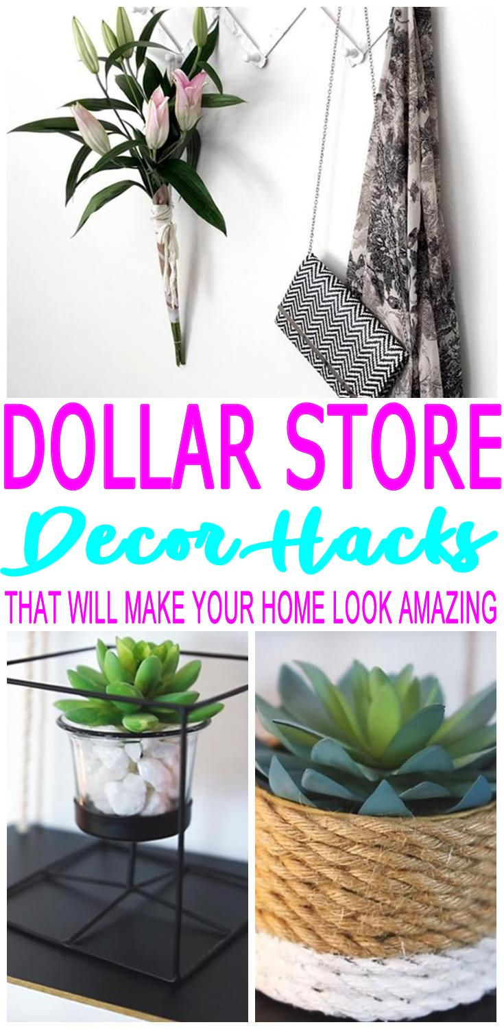 DIY Dollar Store Hacks