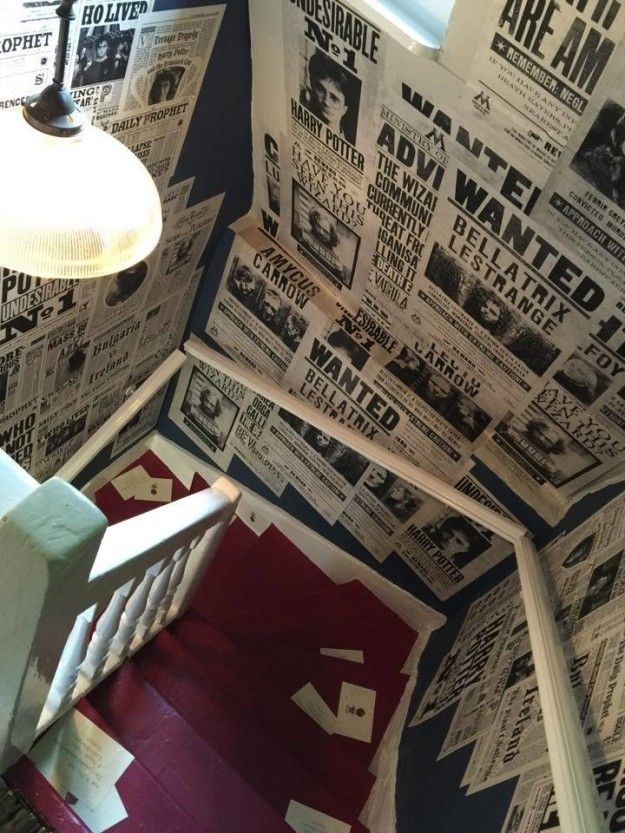And don't even get me started on the staircase. | The Designers Of The Harry Potter Films Have A Pop Up In London And It's Amazing