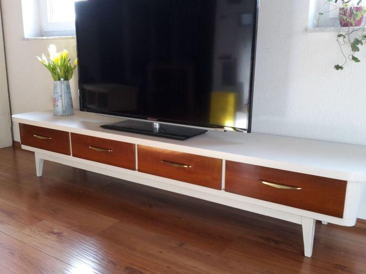KrEaTiVeRMöBeLzAuBeR HANDMADE Fernsehschrank, Lowboard im leichtem Vintagestil  | eBay
