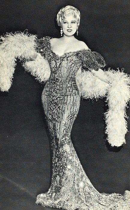 """""""It's better to be looked over, than overlooked"""" Mae West"""